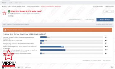 VPC Next Grip Poll Giveaway - WINNERS!